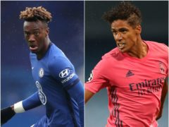 Tammy Abraham and Raphael Varane are being linked with moves (Nick Potts/ PA)