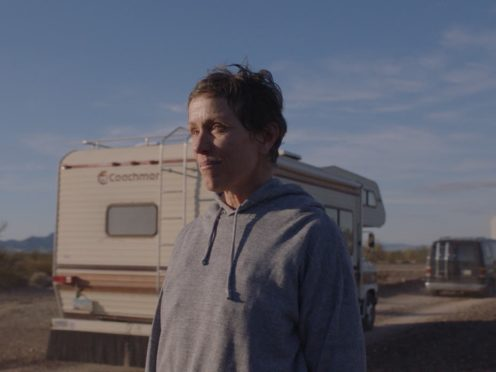 Frances McDormand in Nomadland (20th Century Studios)