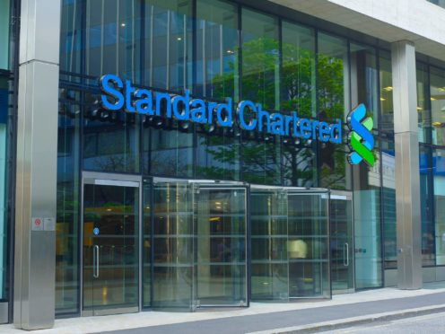 Standard Chartered bank's London office (Finsbury/PA)