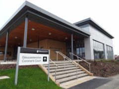 The inquest into Sam Potter's death was heard at Gloucestershire Coroner's Court (Emma Hallett/PA)