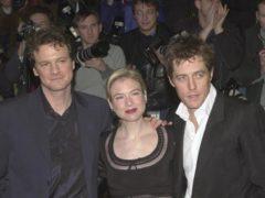 Colin Firth, Renee Zellweger, Hugh Grant (Toby Melville/PA)