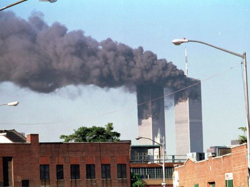 A view of World Trade Centre towers after the terrorist attack in 2001 (PA Archive)