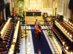 Many members of the royal family have had their funerals in St George's Chapel in Windsor Castle (PA)