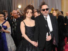 Helena Bonham Carter and Tim Burton (Ian West/PA)