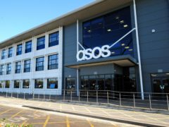 Asos saw sales rise thanks to the latest Covid-19 restrictions forcing high street stores to close (Rui Vieira/PA)