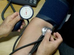 Many more people could benefit from blood pressure-lowering medication, according to a study (Anthony Devlin/PA)