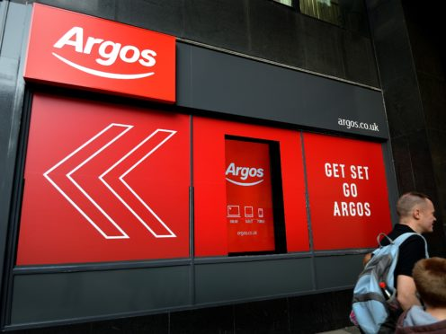 Argos will close its Somerset distribution site (Kirsty O'Connor/PA)