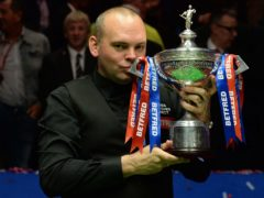 Former world champion Stuart Bingham booked his return to the Crucible (Anna Gowthorpe/PA)