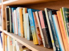 A bookshelf at Hay-On-Wye (Ryan Phillips/PA)