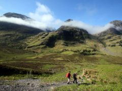 People are being urged to respect nature as they enjoy the Scottish countryside (Andrew Milligan/PA)