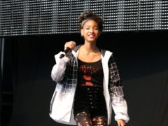 Singer Willow Smith revealed she is polyamorous (Yui Mok/PA)