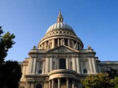 The memorial will be built in St Paul's Cathedral (John Walton/PA Archive)