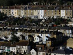 Houses in Dover, Kent. Two fifths of people whose fixed-term mortgages have ended since the start of the first lockdown in March 2020 have taken no action to switch, according to Citizens Advice (Gareth Fuller/PA)
