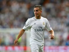 Real Madrid defender Lucas Vazquez has been ruled out of their Champions League quarter-final second leg against Liverpool at Anfield