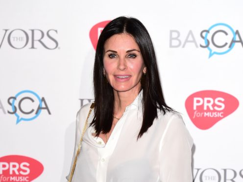 Courteney Cox channelled her Friends character Monica Geller as she showed off her organisational skills on Instagram (Ian West/PA)