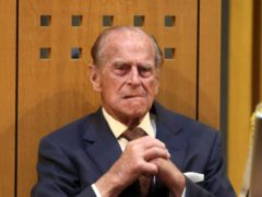 The Duke of Edinburgh attends the opening session of the National Assembly at the Senedd in Cardiff (Steve Parsons/PA)