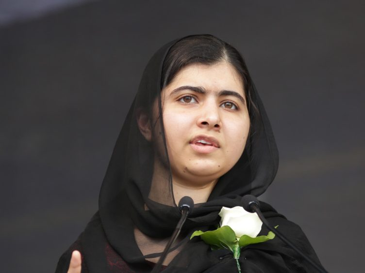 Malala Yousafzai has urged the PM to restore aid spending (Daniel Leal-Olivas/PA)