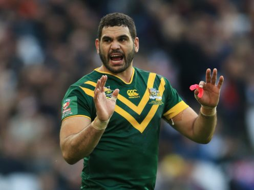 Greg Inglis is a 2013 World Cup winner with Australia (Nigel French/PA)