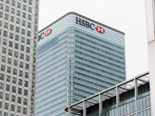 HSBC will scrap its executive floor and have hotdesking throughout (Matt Crossick/PA)