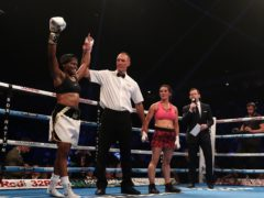 Nicola Adams won her first professional fight on this day in 2017 (Simon Cooper/PA)