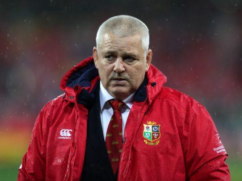 Warren Gatland has named his Lions coaching staff (David Davies/PA)