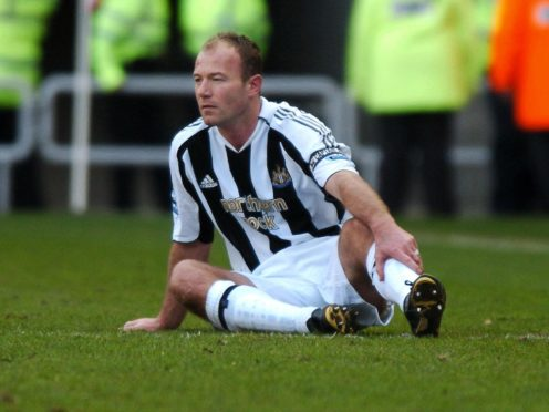 Newcastle striker Alan Shearer announced his retirement from football on this day in 2006 after being injured against Sunderland (John Giles/PA)