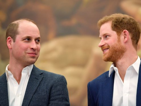Harry said his relationship with William had weakened (Toby Melville/PA)