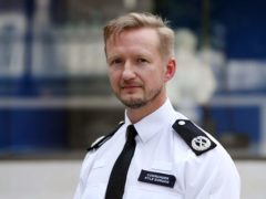 Commander Kyle Gordon was British Transport Police superintendent at the time of the Manchester Arena terror attack (Jonathan Brady/PA)