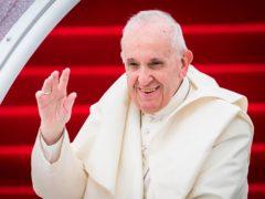 Pope Francis (Danny Lawson/PA)