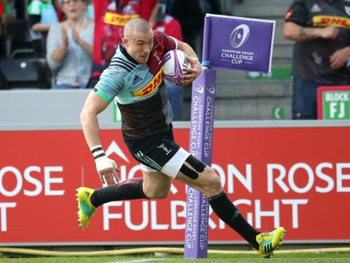 Mike Brown is leaving Harlequins for Newcastle at the end of the season (Adam Davy/PA)