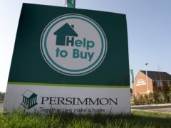 Persimmon homes have sold for around 3% than they did last year. (Andrew Milligan/PA)