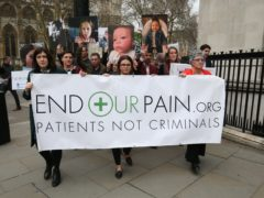 The Government is being urged to provide funding for families forced to buy medicinal cannabis for their children privately (Jonathan Brady/PA)