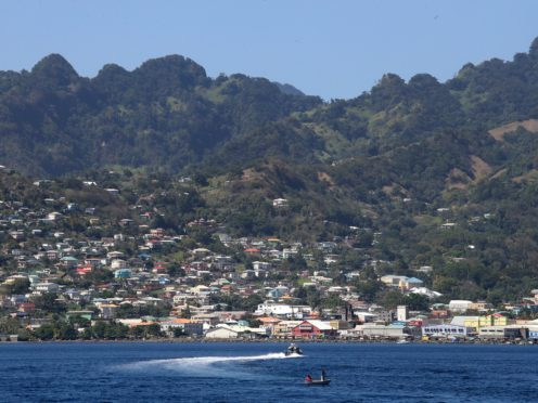 The Caribbean island of St Vincent and Grenadines (Chris Jackson/PA)