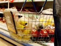 A shopper in a supermarket (PA)