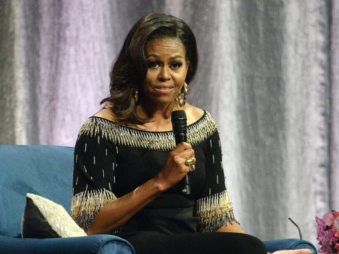 Former US First Lady Michelle Obama (Kirsty O'Connor/PA)