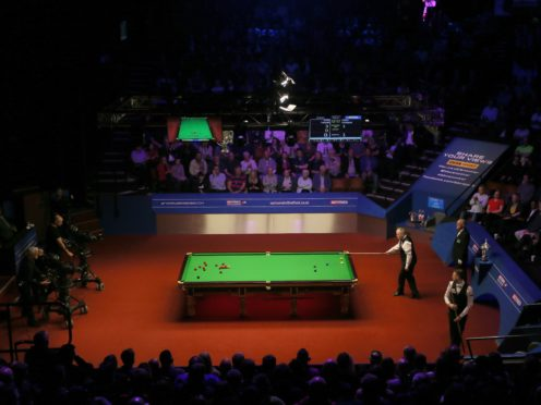 Spectators will be back inside the Crucible for the first day of the 2021 World Snooker Championships (Richard Sellers/PA)