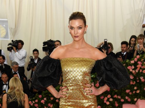 Model Karlie Kloss has revealed her son's name a month after she became a mother for the first time (Jennifer Graylock/PA)
