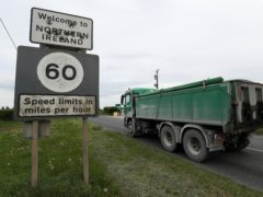 The border between the Republic of Ireland and Northern Ireland (Brian Lawless/PA)
