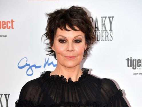 Helen McCrory (Jacob King/PA)