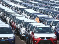 Demand for new cars grew by 11.5% last month compared with March 2020, new figures show (Gareth Fuller/PA)