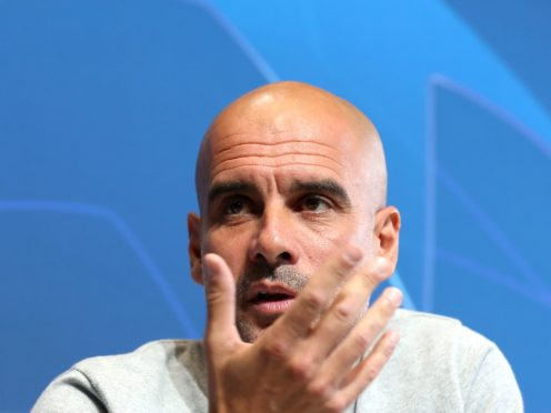 Pep Guardiola has urged his Manchester City players to relax ahead of their Champions League semi-final (Martin Rickett/PA)