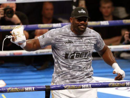 Derek Chisora has no intention of hanging on to his boxing memorabilia (Paul Harding/PA)