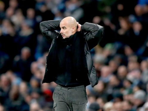 Manchester City, whose manager Pep Guardiola had criticised the European Super League, are to quit the controversial breakaway competition (Martin Rickett/PA)