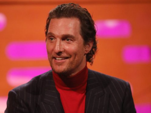 Hollywood actor Matthew McConaughey will watch his new football team Austin FC take to the field this weekend (Isabel Infantes/PA)