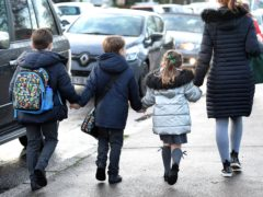 Concern among children about air pollution near schools is rising, new figures suggest (Nick Ansell/PA)