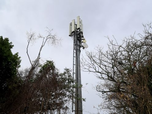 Mobile phone masts could increase in height (Gareth Fuller/PA)