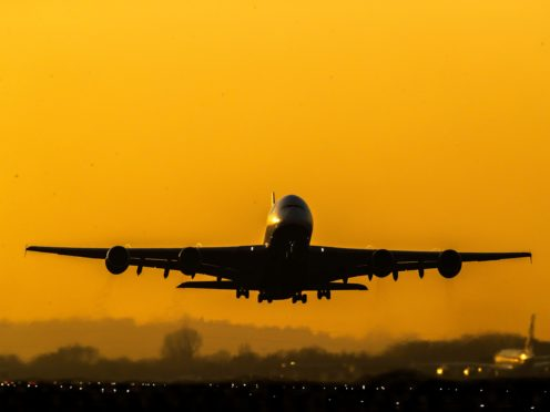 The findings of the Government's travel taskforce have drawn a mixed response (Steve Parsons/PA)
