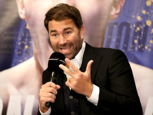 Eddie Hearn is the new chairman of Matchroom Sport (Bradley Collyer/PA)