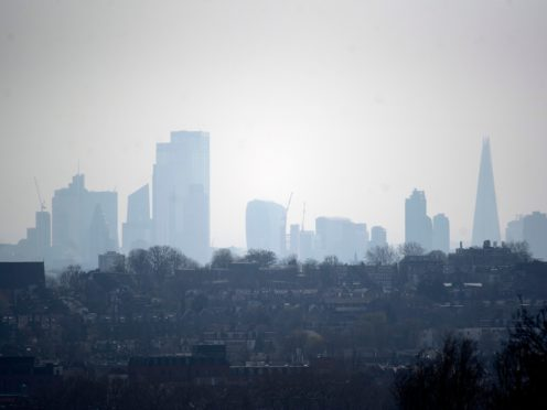 Household aerosols now release more harmful smog chemicals than vehicles (Victoria Jones/PA)