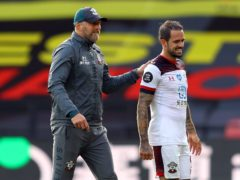 Southampton manager Ralph Hasenhuttl (left) hopes Danny Ings will extend his stay at the club (Richard Heathcote/NMC Pool/PA)